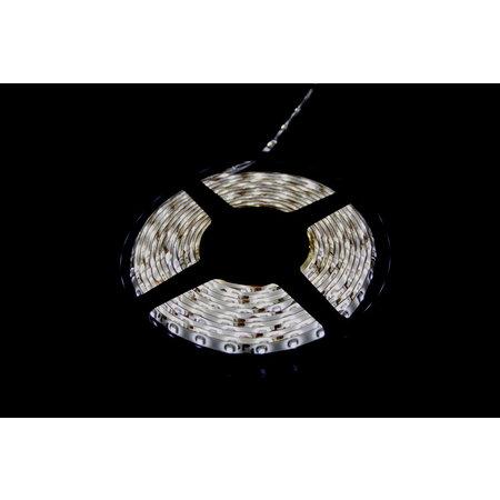 LED Streiffe Set 5m Kalt Weiss-3528 LEDS Farbe  mit adapter