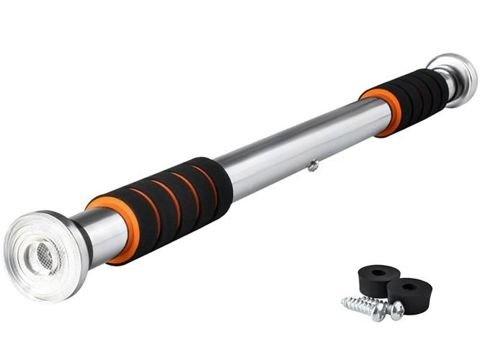 Zeer stabiele pull up bar, ideaal voor het sporten thuis. deze pull up bar is bovendien verstelbaar van 83 cm ...