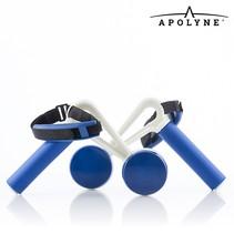 Walk & Weight Gewichtsmanchetten met Handgrepen (pak van 2) - Home Fitness