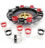 Party Drink Roulette met 16 Glaasjes - Drankspel