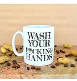 COVID 19 -Handen Wassen Instructie Mok - Anti-Coronavirus Mok