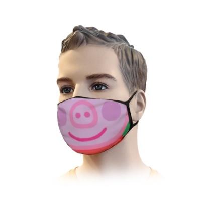Mondkapje Streetwear Pig Design | Mond Neus Masker | Mondmasker