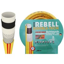 "Rebell® Tuinslang / Waterslang Ø 1/2"" / 12,5mm - 6-lagen - Anti Torsie Systeem"