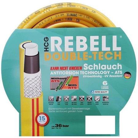 "GARDITECH Rebell® Gartenschlauch / Wasserschlauch Ø 1/2"" / 12,5mm- 6 Lagig - Anti Torsion System"