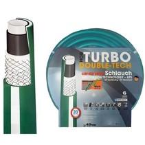 "Turbo-Double-Tech® Gartenschlauch / Wasserschlauch Ø 3/4"" / 19mm- 6 Lagig - Anti Torsion System"