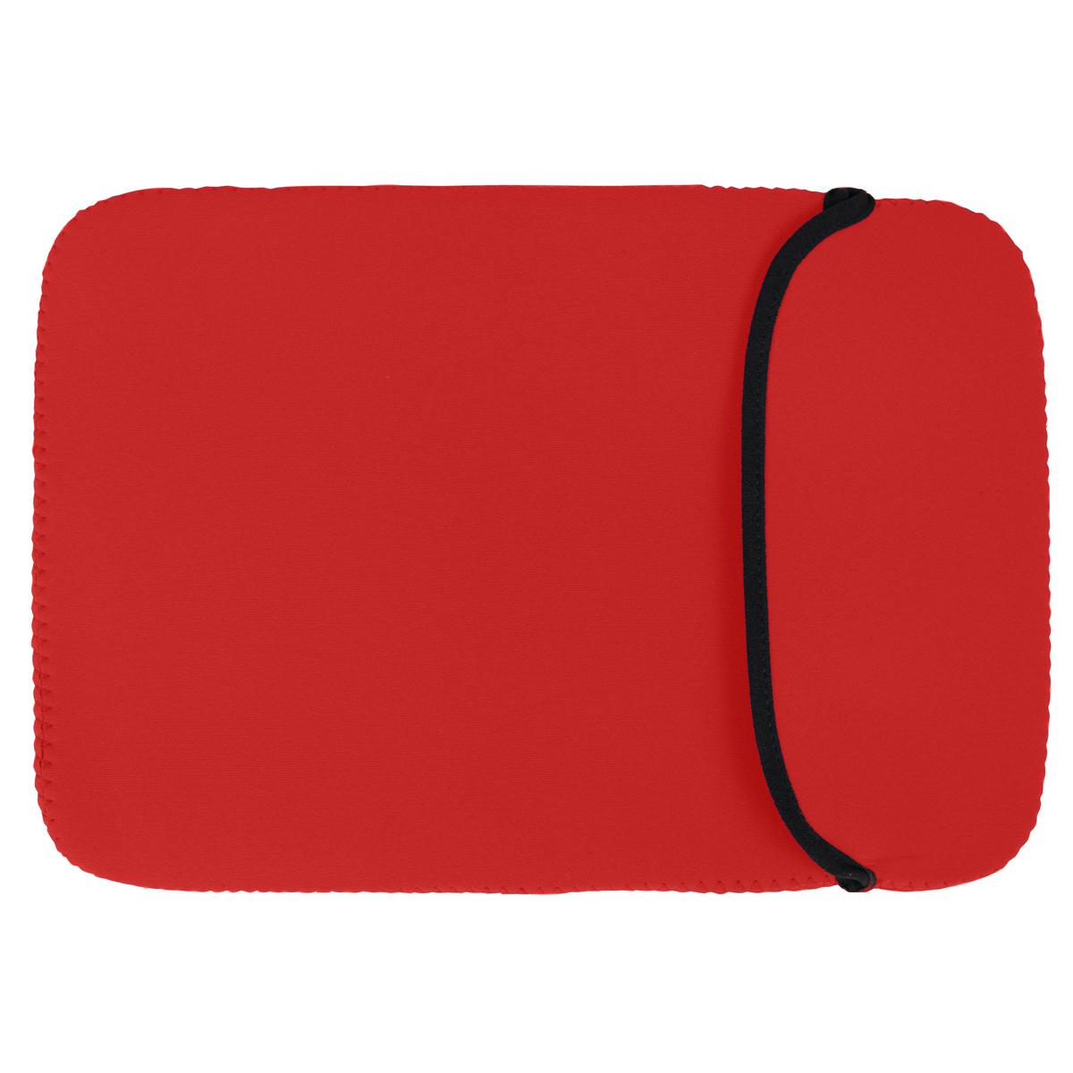 13 Inch Macbook Laptop Chromebook Neopreen sleeve case Rood