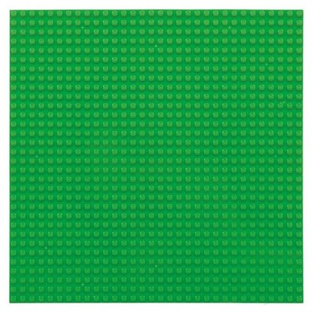 Geeek Large Baseplate Construction plate for Lego Building Blocks Green 32 x 32