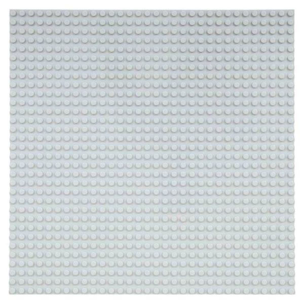 Grote Grondplaat Bouwplaat voor Lego Bouwstenen Grijs 32 x 32