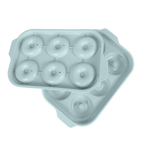 Donuts ice tray ice cubes shape