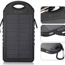 Survivor Solar Powerbank Waterdicht