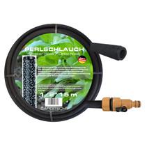 "Drip hose Sweat hose Drip line 1/2 ""with Regulator valve"