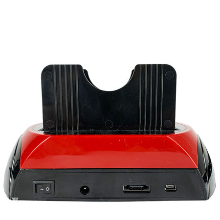 Geeek All in 1 HDD Dual Docking Station Backup IDE HDD Card Reader
