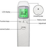 Digitale Non Contact Infrarood Laser Koortsthermometer Voorhoofd