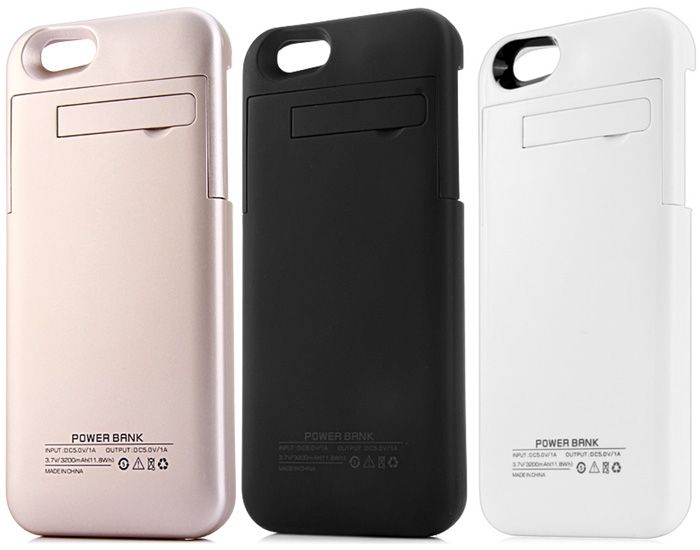 newest collection 963f6 e01d8 IPhone 6 Plus Ultra Slim Case Cover / Power Bank - 4000 mAh