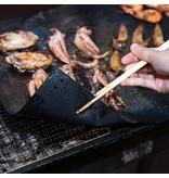 Geeek Ofenschutz / BBQ Grillmatte - Hitzebeständig und wiederverwendbar