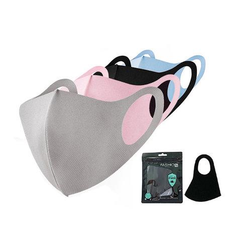 Mondkapje Fashion Ice Silk Cotton Roze | Mond Neus Masker | Mondmasker