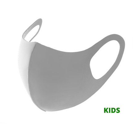 Children Facemask Fashion Ice Silk Cotton Grey | Mouth Nose Mask | Mouth mask