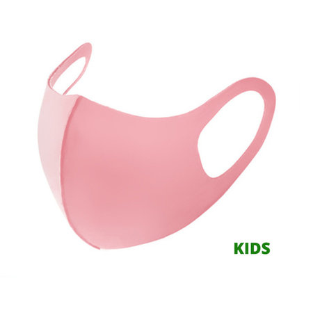 Kinder Gesichtsmaske Fashio Baumwolle Rosa | Mund-Nasen-Maske | Mund Maske