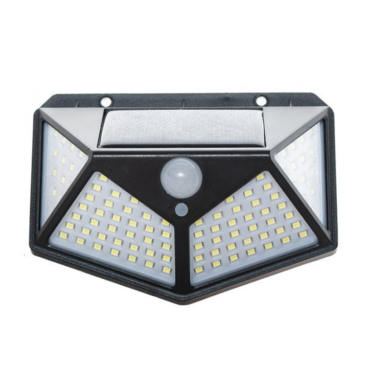 Solar Outdoor Lamp With Motion Sensor, Outdoor House Led Lights With Motion Sensor