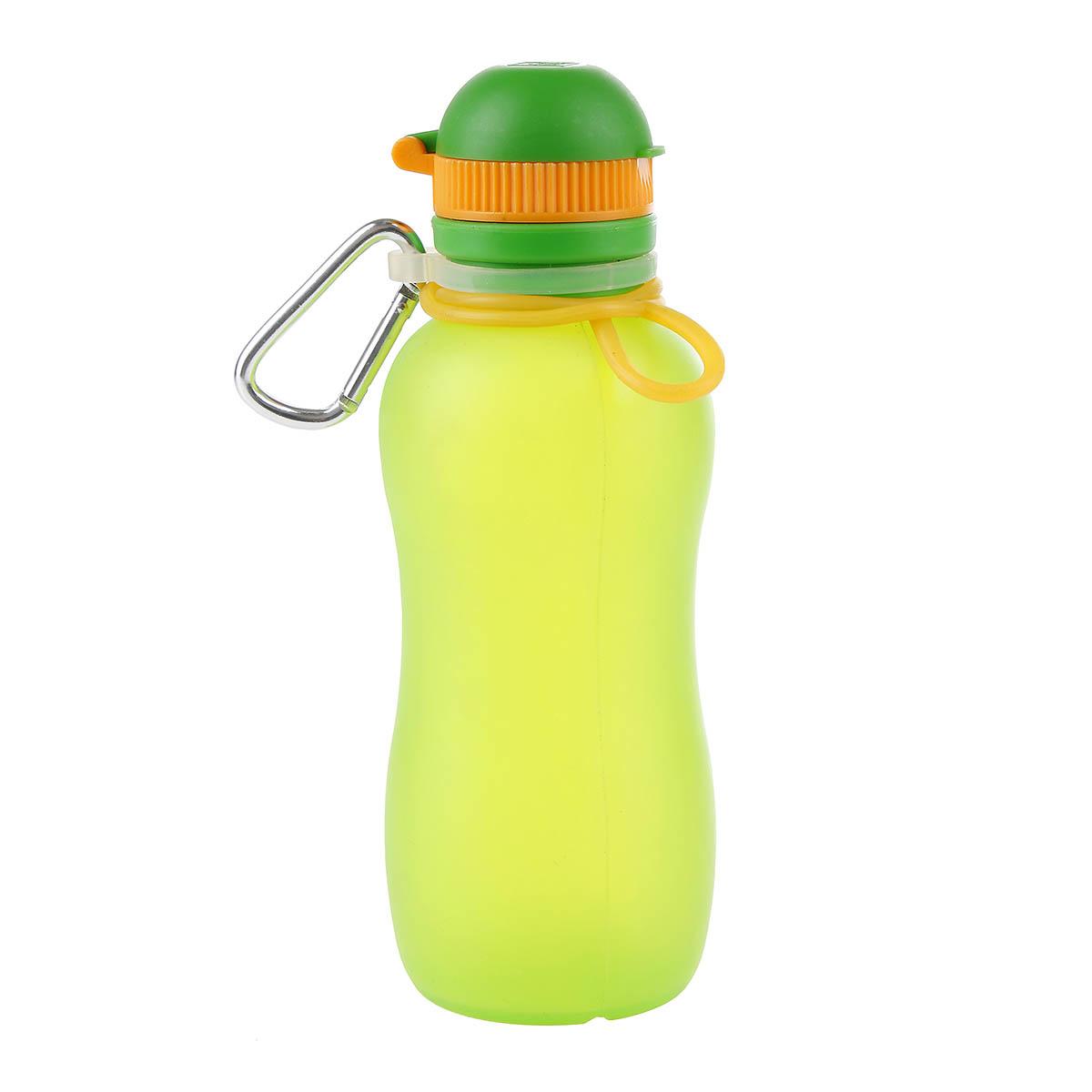 Viv Bottle 3.0 - Opvouwbare Siliconen Fles - Bidon - Groen 500ml