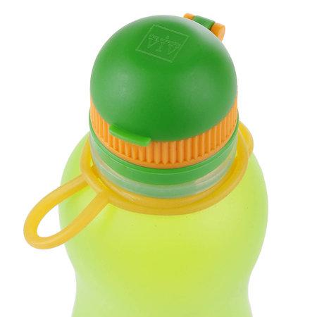 Zielonka Viv Bottle 3.0 - Foldable Silicone Bottle / Water Bottle - Green