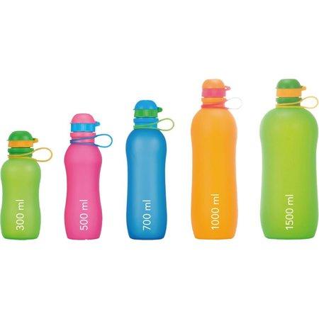 Zielonka Viv Bottle 3.0 - Opvouwbare Siliconen Fles / Bidon - Oranje