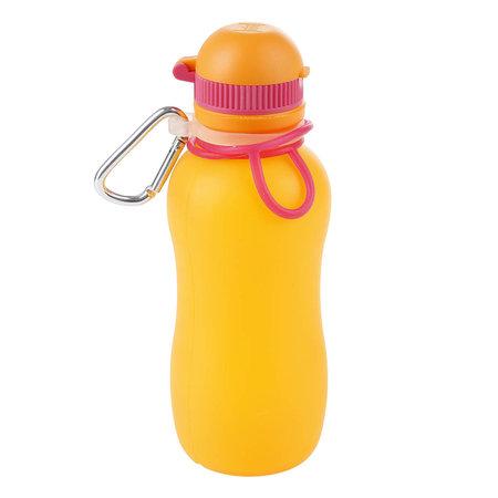 Zielonka Viv Bottle 3.0 - Faltbare Silikonflasche / Wasserflasche - Orange