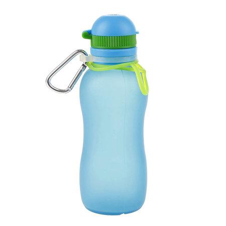 Zielonka Viv Bottle 3.0 - Opvouwbare Siliconen Fles / Bidon - Blauw