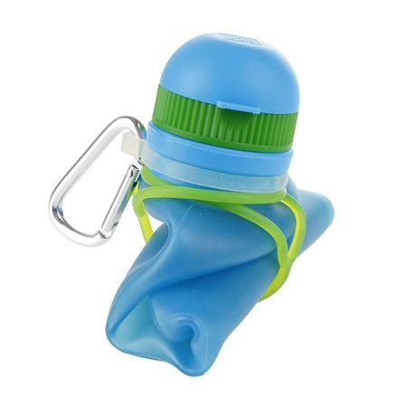 Zielonka Viv Bottle 3.0 - Faltbare Silikonflasche / Wasserflasche - Blau