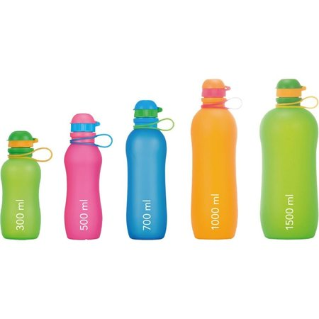 Zielonka Viv Bottle 3.0 - Foldable Silicone Bottle / Water Bottle - Pink