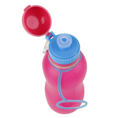 Zielonka Viv Bottle 3.0 - Opvouwbare Siliconen Fles / Bidon - Roze