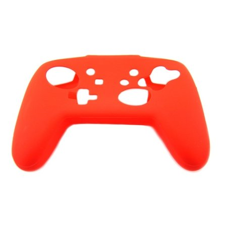 Geeek Silicone Protective Skin for Nintendo Switch Pro Controller - Red