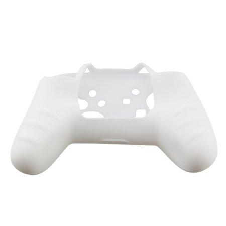 Geeek Silicone Beschermhoes Skin voor Nintendo Switch Pro Controller - Wit