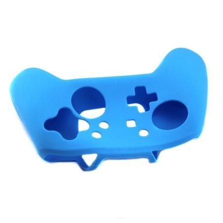 Geeek Silicone Beschermhoes Skin voor Nintendo Switch Pro Controller - Blauw
