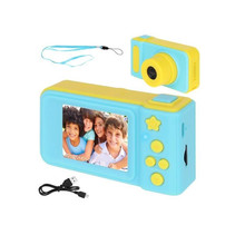 Kids Digital Photo Camera 3MP / Video camera 1080P - Lanyard - Blue