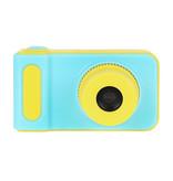 Kids Digital Photo Camera 3MP / Video camera 1080P - Lanyard - Blue
