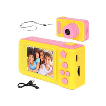 Kids Digital Photo Camera 3MP / Video camera 1080P - Lanyard - Pink