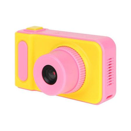 Kids Digital Photo Camera 3MP / Video camera 1080P - Lanyard - Pink