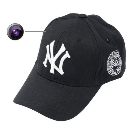Geeek Spion Kamera Cap HD 1080p Spycam