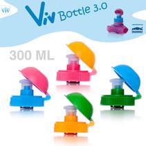 Twist cap with lockable pull spout for 300 ml Viv Bottle 3.0 - Spare part