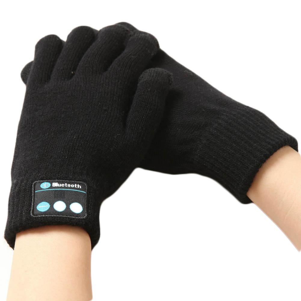 Bluetooth Talking Music Handschoenen Zwart