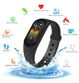Smartband M5 Fitness Aktivitäts-Tracker Schrittzähler- Schwarz
