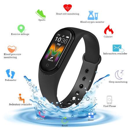 Smartband M5 Fitniss activity tracker Pedometer - Black