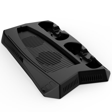 Geeek Dual Charging Dock Stand - Cooling Fan -USB Hub for PS5 game consoles
