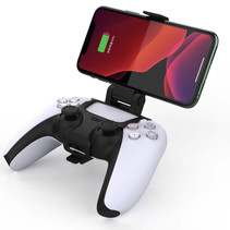 Smartphone Holder Clamp Mount for PS5 controller - 180 degrees Adjustable