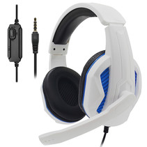 Gaming-Headset Over-Ear-Surround-Stereo-Spielkopfhörer mit Mikrofon für PS5 / PS4 / Xbox One / Mac / PC