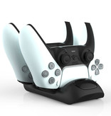 Geeek Dual Fast Charging Dock for PS5 DualSense Controllers Charging Station