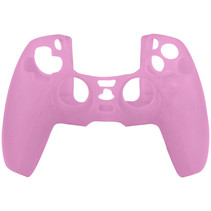 Silicone Case Cover Skin for PS5 DualSense Controller - Pink