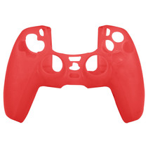 Silicone Case Cover Skin for PS5 DualSense Controller - Red