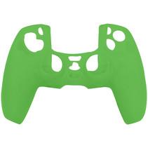 Silicone Case Cover Skin voor PS5 DualSense Controller - Groen